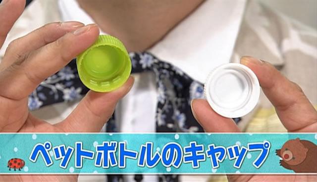 日用品でお手軽あそび「ペットボトルのキャップ」