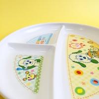ワンワンとうーたん 食洗機対応PP製ランチ皿XP17
