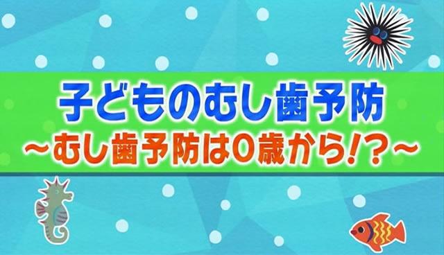 子どものむし歯予防(2)むし歯予防は0歳から!?