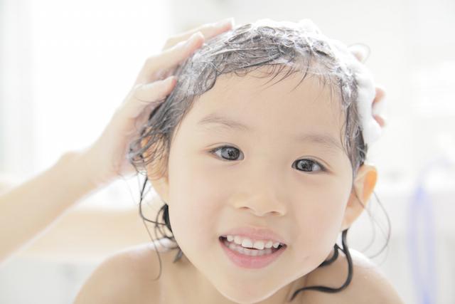 難易度の高い髪の毛のひとり洗い