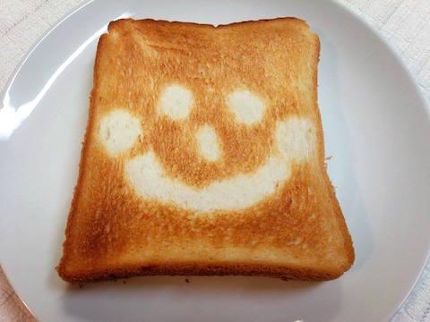 にっこりトーストの写真3