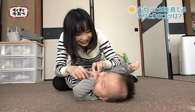 赤ちゃんと楽しむ語りかけ
