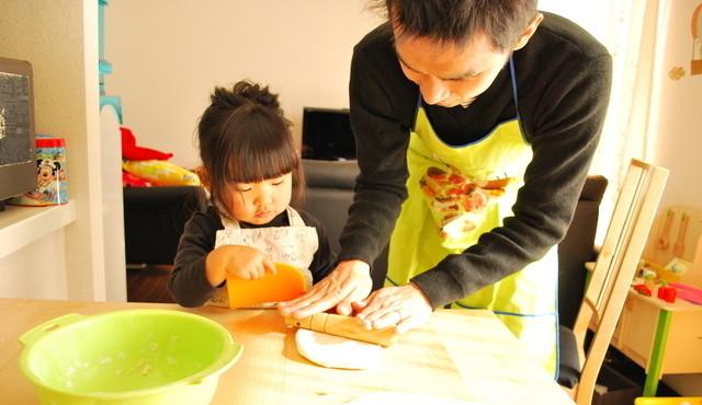 父と子で料理