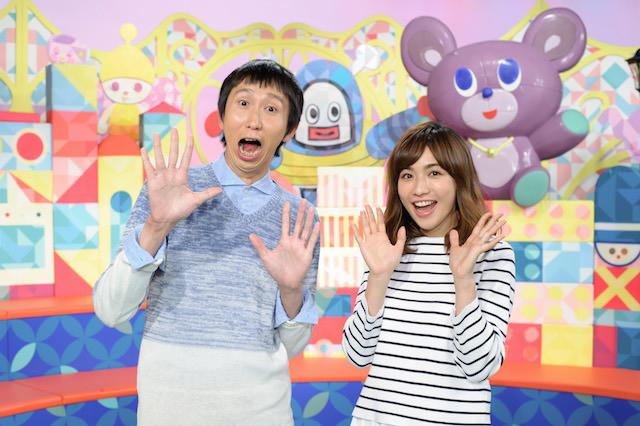 「すくすく子育て」新MC アンガールズの山根良顕さんと優木まおみさん