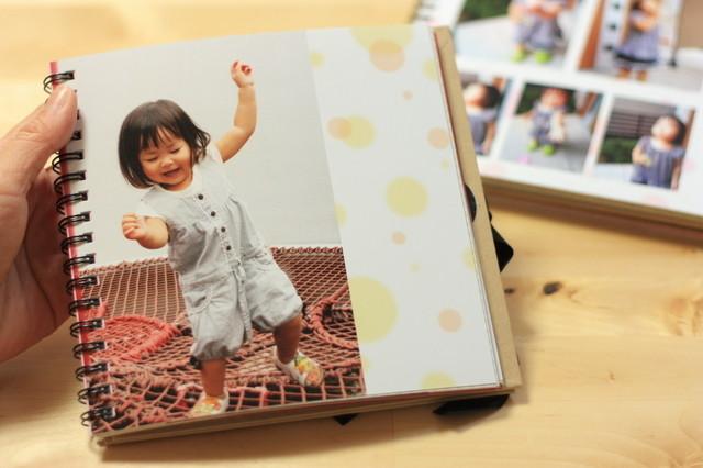 子ども写真のアルバム