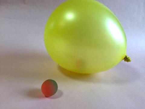 へんてこ風船の写真1