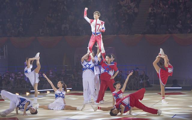ワンワンといっしょ! 夢のキャラクター大集合 ~真冬の大運動会~のステージの様子2