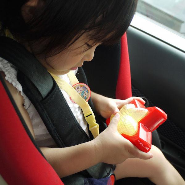 車の中でも楽しく遊べる工夫