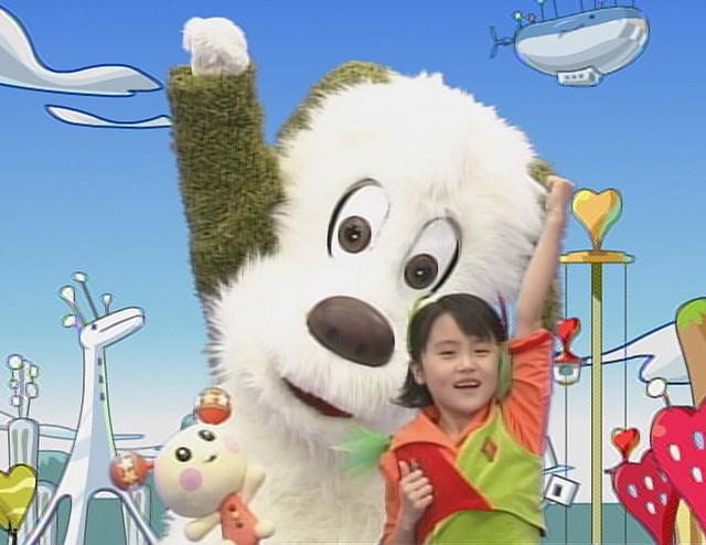 いないいないばあっ!20周年DVD映像・ワンワンとうーたんとふうかちゃんの「げんき げんき!」