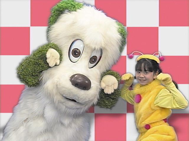 いないいないばあっ!20周年DVD映像・ワンワンとかなちゃん「ねこねこしゃんしゃん」