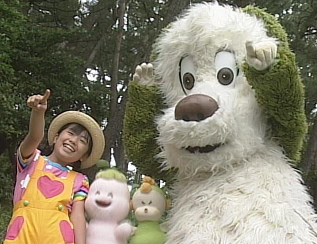 いないいないばあっ!20周年DVD映像・ワンワンとかなちゃん