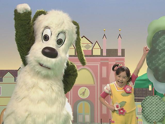 いないいないばあっ!20周年DVD映像・ゆうなちゃんの「パチパチ パレードっ!