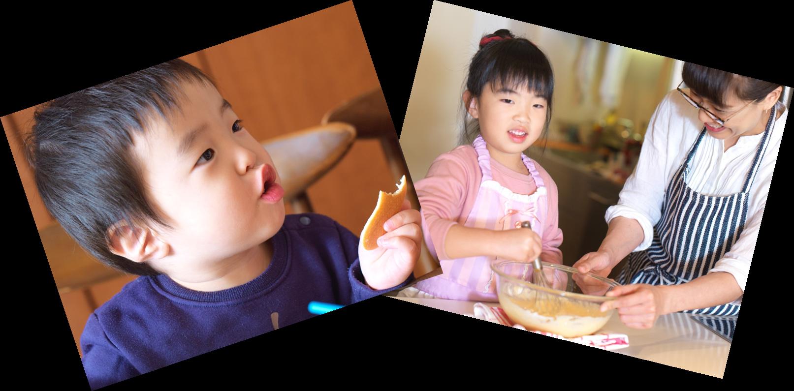 1歳から始める食育