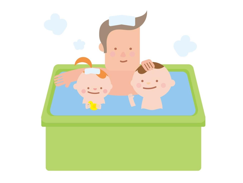 休日のお風呂は6割以上がパパと! 子どもとパパのお風呂ストーリー[PR]