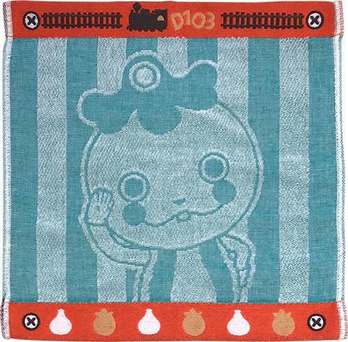 ジャガード織りハンドタオルシュッシュ