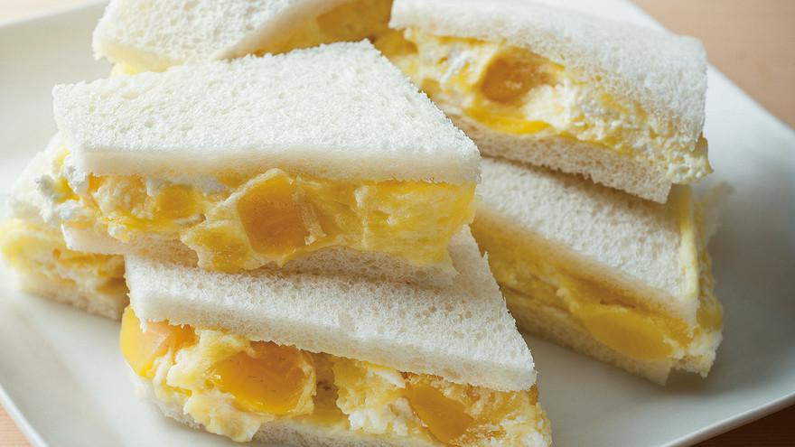 きんとんシャンテリーのサンドイッチ